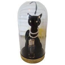 Retro Max Factor Black Cat Advertised Primitif  by Max Factor 1956