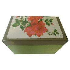 Vintage Ohio Art Co. Tin Filled Recipe Box