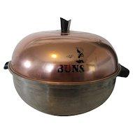 West Bend Aluminum Bun Warmer  or Serving Oven