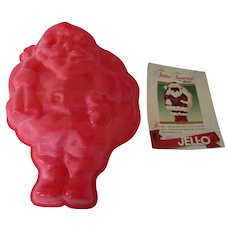 !988 Jello Holiday Mold with Recipes-Dessert or Salad