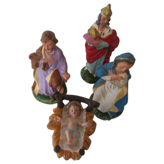 Vintage Nativity Set or Extra Figurines