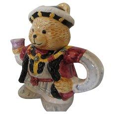 King Henry Tea Pot Bear Made in Taiwan