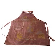 The Three Bears Apron Child's Size