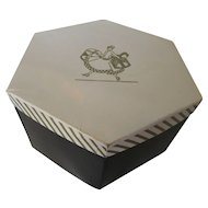 Ladies Vintage Hat Box For Storage or Display