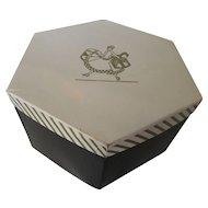 Ladies Vintage Hat Box For Storage or Display