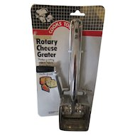 Rotary Cheese Grater 1984, New and Original Package