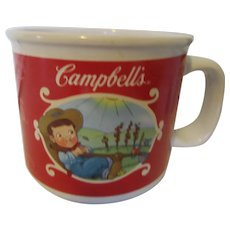 Campbell's Soup Mug by Houston Harvest with Campbell Kids