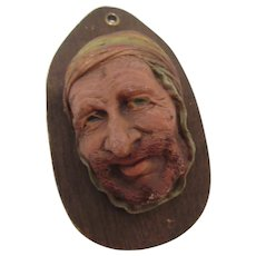 Mounted Resin Head on Plaque Similar to Bosson Head
