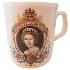 Queen Elizabeth Mug 1977 England