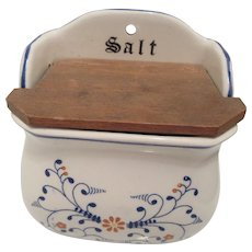 Royal Sealy Heritage Salt Box 1950s Japan