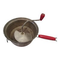 Foley MFC. Co. Vintage Red Handle Food Mill