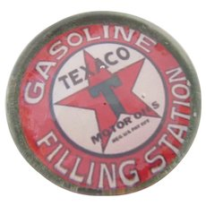 Vintage Texaco Gasoline Filling Station Paper Weight