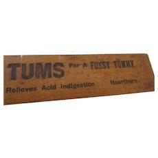 Vintage Advertising Drugstore Ruler Promotional St. Louis