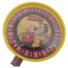DogPatch Spinning Toy Li'll Abner by Al Capp 1934-1977