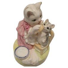 "Schmid Beatrix Potter Music Box ""Its a Small World"" 1981"