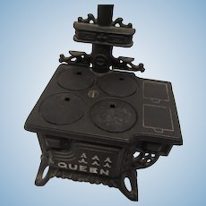 Princess Cast Iron Stove for Doll House