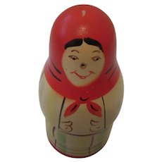 Polish Nesting Dolls Matryoshka Hand Painted 1980s