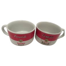 1994 Campbell's Tomato Soup Mugs by Westwood