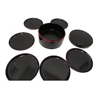 Alcohol & Stainproof Lacquer Ware Coasters-Japan