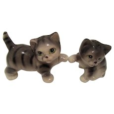 Vintage Cat Salt and Pepper Shakers -Japan