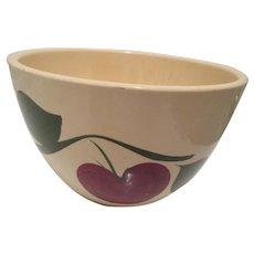 Watts Pottery Apple Pattern 65 Bowl-As Is