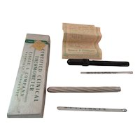 Eisele 1947 Clinical Thermometer & 4623 Amer. Ther. Co. St. Louie