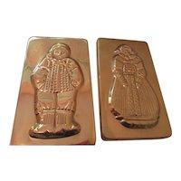 Copper Plaques For Kitchen 1970s Korea