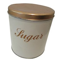 Decorware USA Metal Sugar Canister