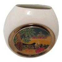 Hawaii Decorative Art of Cloisonne Japanese Vase