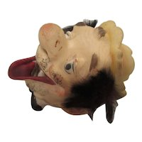 Clown Ashtray by Tilso Japan 1950s