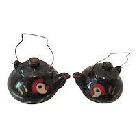 Salt and Pepper Teapots Chicken Design Japan