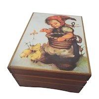"Vintage Music Box ""Windmills of Your Mind"" Theme -Japan"