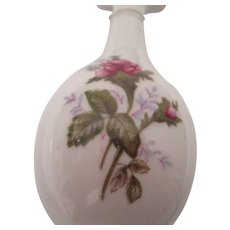 Japanese Bud Vase with Roses