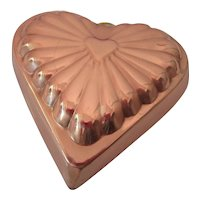 Heart Shaped Copper Mold Made in Korea