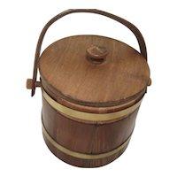 Vintage Wooden Keg Once For Cigar Making