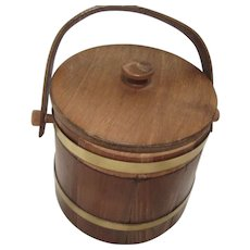 Vintage Wooden Keg Once For Cigar Making