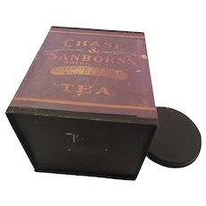 Chase & Sanborn's Green Label Orange Pekoe Tea Tin