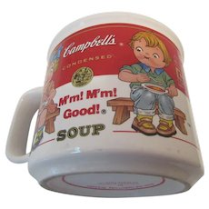 Campbell's Soup Mug By Westwood with Campbell Kids