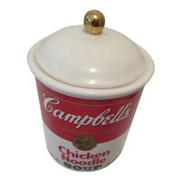 Campbell's  Chicken Noodle Soup Canister 1998