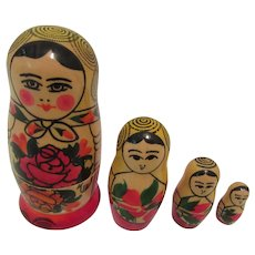 Russian Matryoshka Nesting Doll Decorative