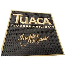 Tuaca Liquore Originale Bar Mat; Vintage Brandy
