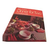 "Betty Crocker's ""Dinner for Two Cookbook"" 1974"
