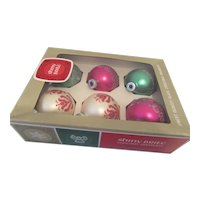 Shiny Brite Ornaments Package of Six