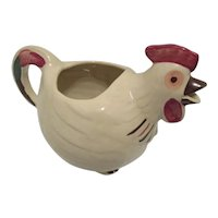Vintage Rooster Water or Juice Pitcher U.S.A.