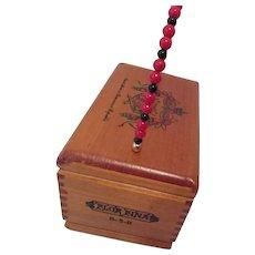 Wooden Vanity Box Organizer