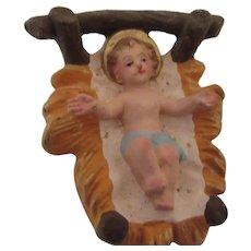 Christ Child In Manager for Nativity Scene