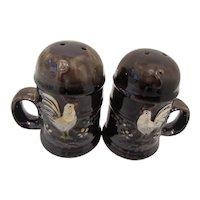 Vintage Rooster Salt & Pepper Shakers