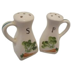 Vintage Salt and Pepper Shakers with Corks