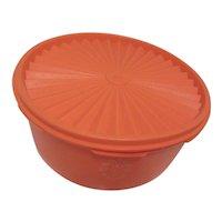 Tupperware Orange Canister 1204-2 1970s