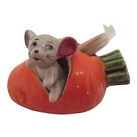 Carrot & Mouse Toothpick Holder Japan